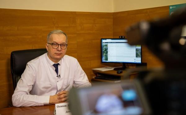 Главврач ДЦГБ Андрей Осипов