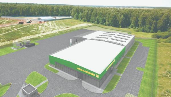 Немецкая компания «Амазоне» построит в Домодедово склад и учебный центр