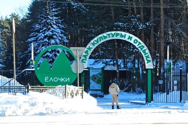 Парк Елочки