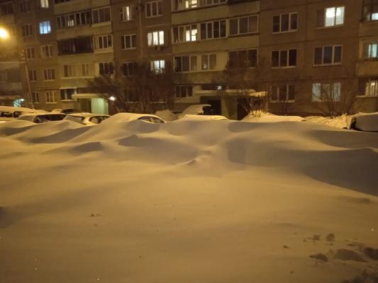 Домодедово в снегу