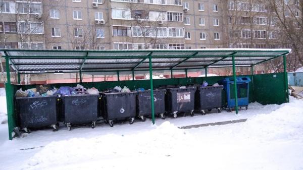 Контейнерная площадка в Домодедово