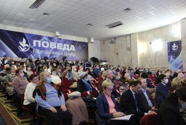 Отчет перед жителями микрорайона Центральный