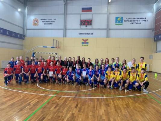Спортсмены школы олимпийского резерва «Олимп» приняли участие в Первенстве Московской области по мини-лапте