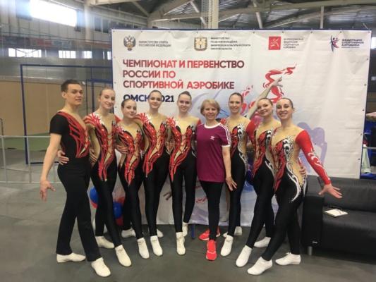 Домодедовские спортсмены на Чемпионате России по спортивной аэробике
