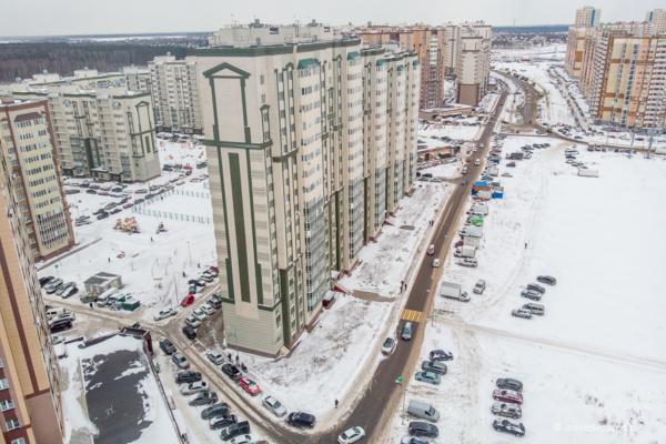 Новое Домодедово. Южное Домодедово. Микрорайон Южный