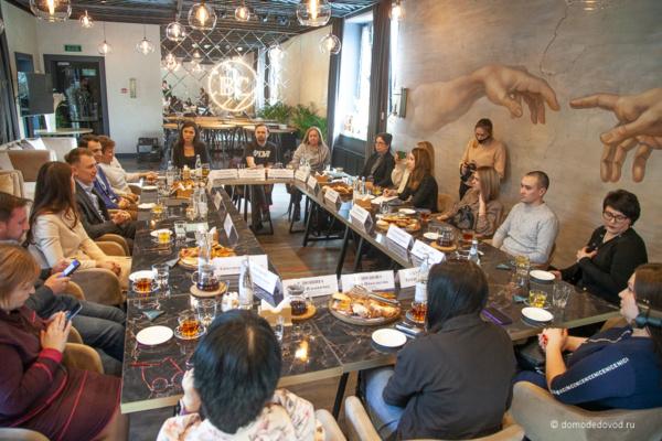 Встреча Александра Двойных с блогерами и журналистами