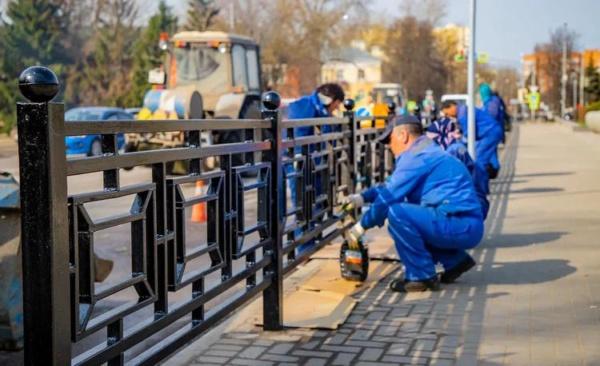 Городской округ Домодедово продолжают приводить в порядок