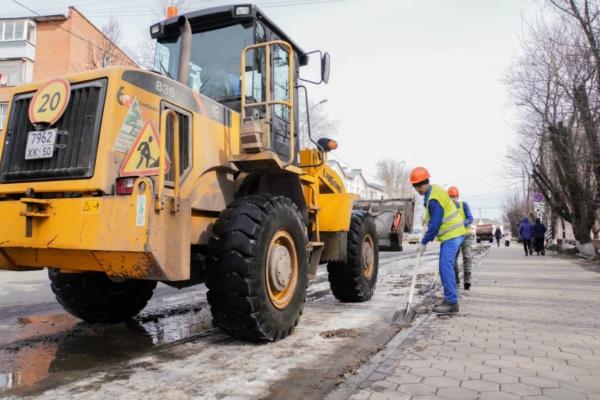 Уборка дорог и общественных пространств г.о. Домодедово