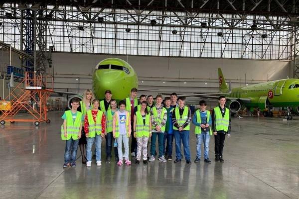 Экскурсия в аэропорту для особенных детей