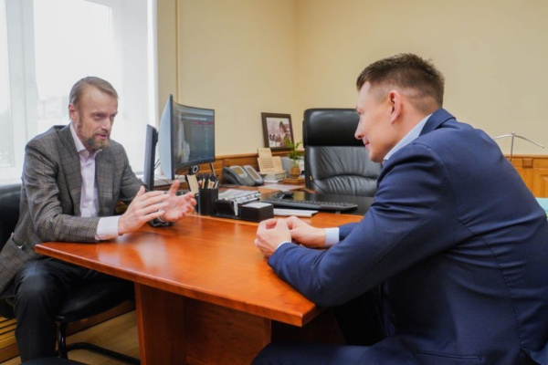 Александр Двойных встретился с генеральным директором Myllyn Paras