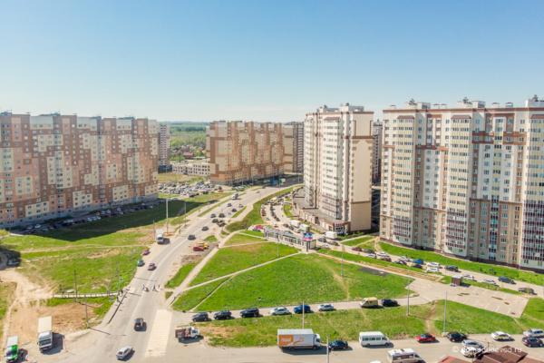Домодедово сверху: ЖК «Новое Домодедово» и ЖК «Южное Домодедово»