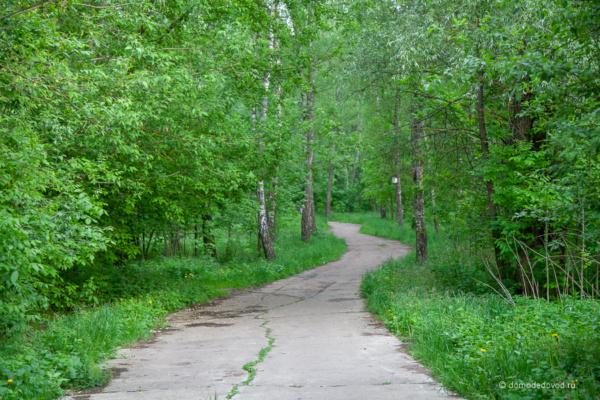 Парк в микрорайоне Авиационный