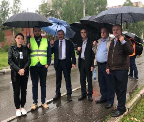 В Домодедово обсудили безопасность на железнодорожных переездах