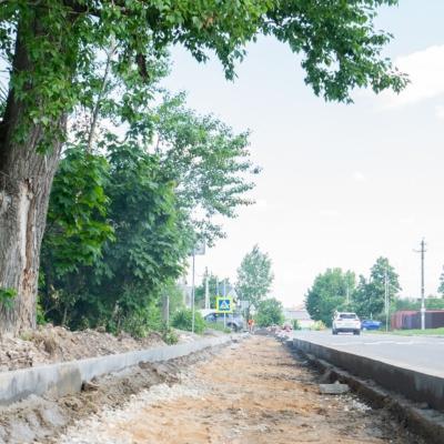 Строительство тротуаров в Домодедово