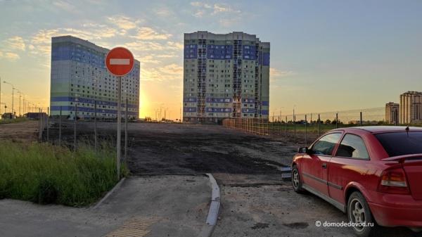 Строительство парковки в микрорайоне Южный