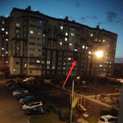 Пожар в Новом Домодедово