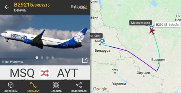 Внеплановая посадка в Домодедово