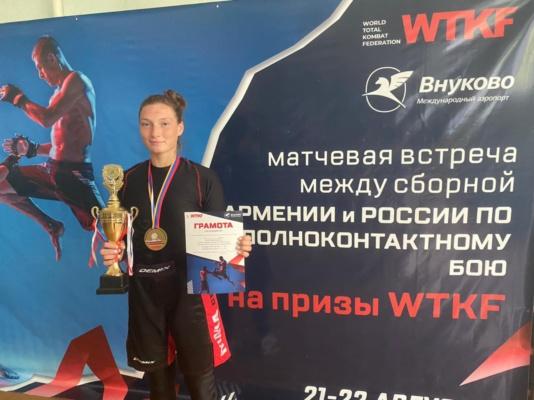 Ни одного поражения за 6 лет: Мария Егорова вновь взяла золото!