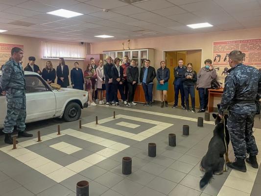 День открытых дверей для старшеклассников в УМВД Домодедово