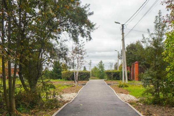 Новые тротуары в сельских территориях