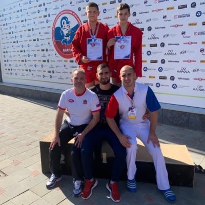 Домодедовские бронзовые призеры Всероссийских юношеских игр боевых искусств