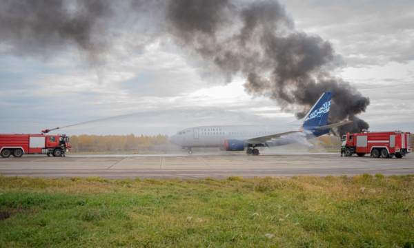 Аэропорт Домодедово и государственные службы показали готовность к экстренным ситуациям на учениях