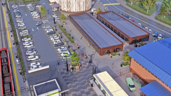 На станции Домодедово МЖД планирует построить новый транспортно-пересадочный узел с парковкой
