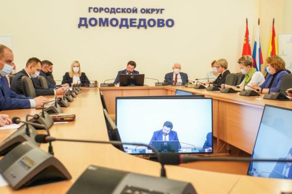 Михаил Ежокин провёл оперативное совещание