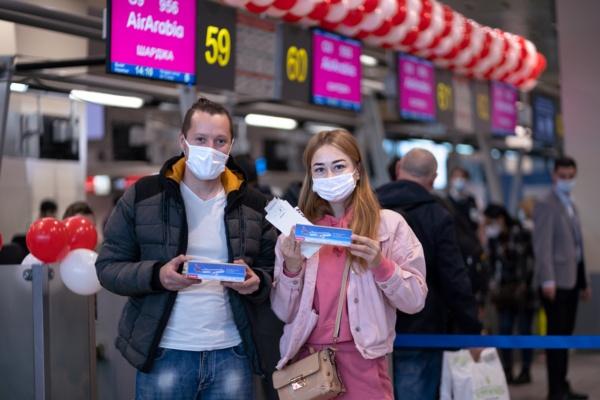Аэропорт Домодедово и авиакомпания Air Arabia отмечают юбилей сотрудничества