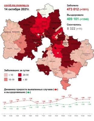 Хроники коронавируса в Московской области